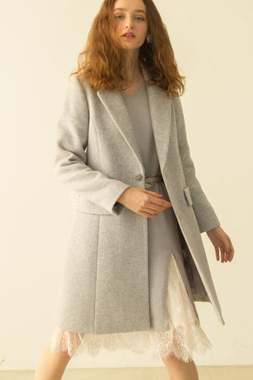 【CanCam 12月号掲載】FROSSY MOUSSER CHESTER COAT