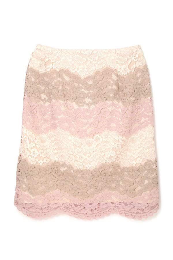 COLOUR BORDER LACE SK