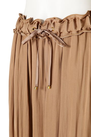 SATIN DRAPE PANTS
