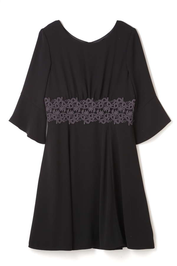 FLAIR SLEEVE DRESS