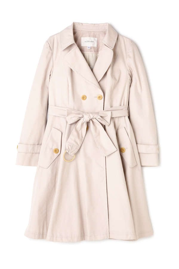 【CanCam 5月号掲載 まいさん着用アイテム】DRESS TRENCH