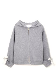 LACE UP HOODIE