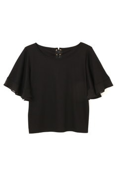 RUFFLE SQ SLEEVES