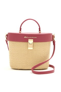 【CanCam 5月号掲載 まいさん着用アイテム】RATTAN SKIN BUCKET