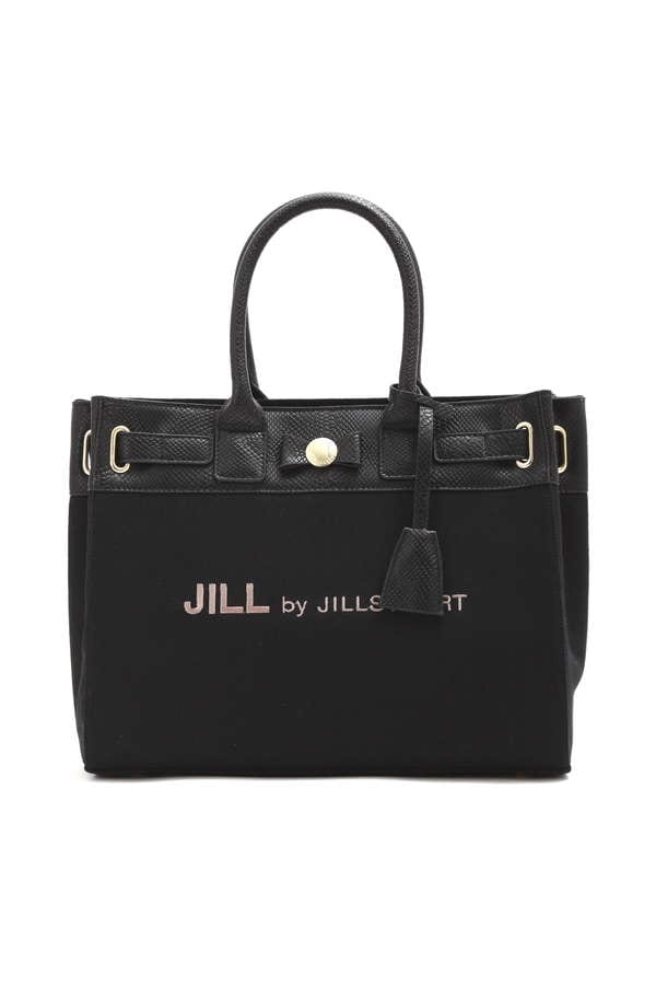 RIBBON BELTED TOTE(L)