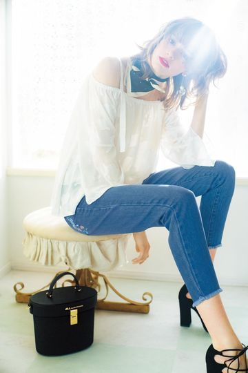 【CanCam 5月号掲載 まいさん着用アイテム】【sweet 4月号掲載】SABO LACEUP SANDAL