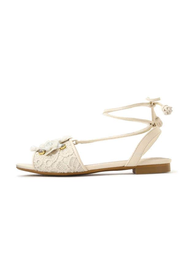 GARDEN LACE-UP SANDAL