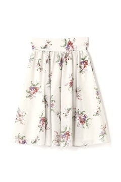 BOUQUET WILD ROSE SKIRT