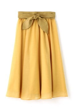 SASH BELT SKIRT