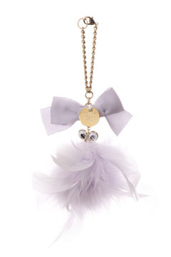 EYES ON FEATHER CHARM