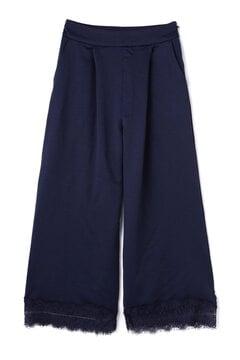 【MOOK本掲載 香川沙耶さん着用】サテン裾レースワイドパンツ