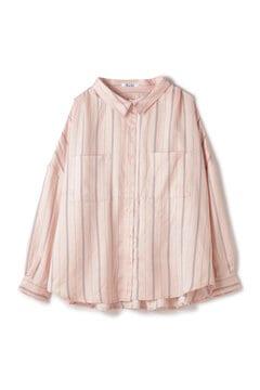 サテンとろみシャツ