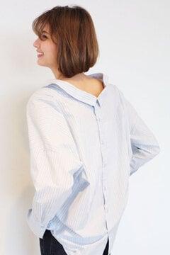 【ヒルナンデス!着用商品】後ろボタン抜けシャツ