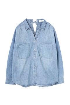 【ベッキーさん着用アイテム・17SSMOOK BOOK掲載】ライトオンスデニムシャツ