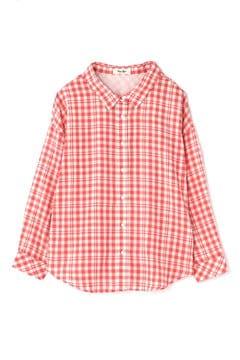 異ピッチギンガムゆるシャツ
