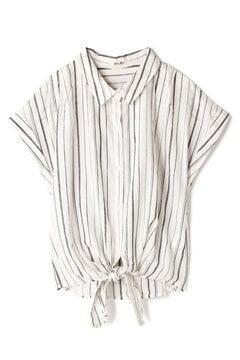 【先行予約_5月中旬お届け予定】抜け衿前結びシャツ