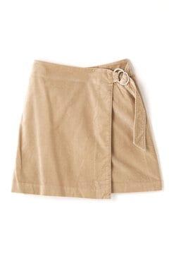 春別珍台形ミニスカート