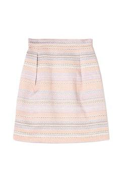 ツイードコクーンスカート