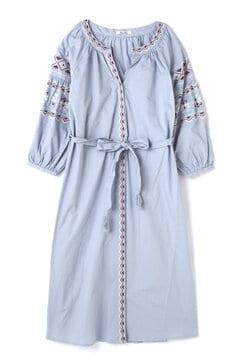 カフタン刺繍ワンピース