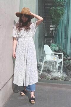 【ヒルナンデス!着用商品】カシュクールモッキング小花ワンピース