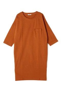 【先行予約_5月中旬お届け予定】ポケ付Tシャツワンピース