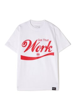 《Planet of the Grapes》Work ロゴTシャツ
