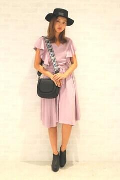 【先行予約_9月上旬お届け予定】スウェード イレヘムスカート セットアップ
