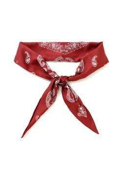 バンダナ柄ひし形スカーフ