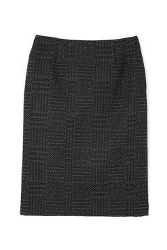 ラメグランチェックジャガードスカート