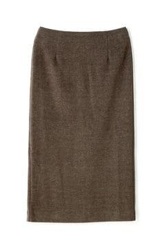 ボトルネックニットソータイトスカート