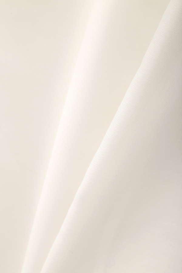 【ご好評により数量追加!】【先行予約_5月中旬お届け予定】ウォッシャブルビエラ袖フリルブラウス