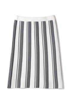 ランダムストライプタイトスカート