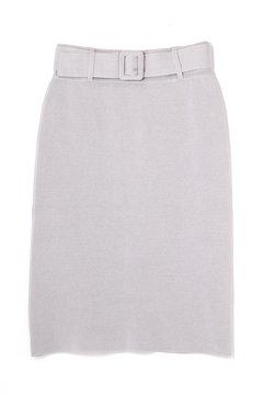 ミラノリブセットアップスカート