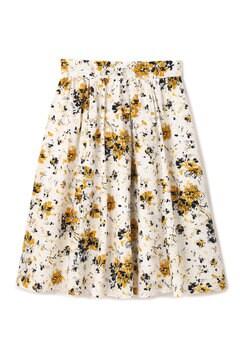 フラワータイプライタースカート