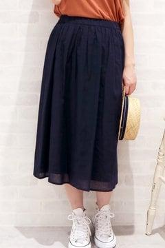 コットンリネンセットアップスカート