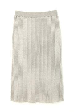 ワイドリブ五分袖セットアップスカート