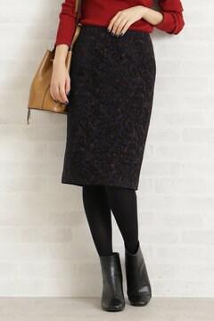 【先行予約_10月上旬お届け予定】レオパードモールタイトスカート