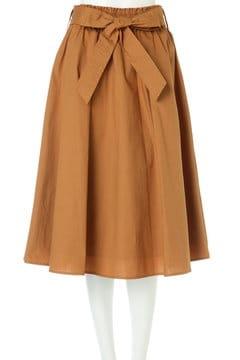 ウエストシャーリングリボンベルトスカート