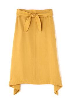 ピーチテンセルカラースカート