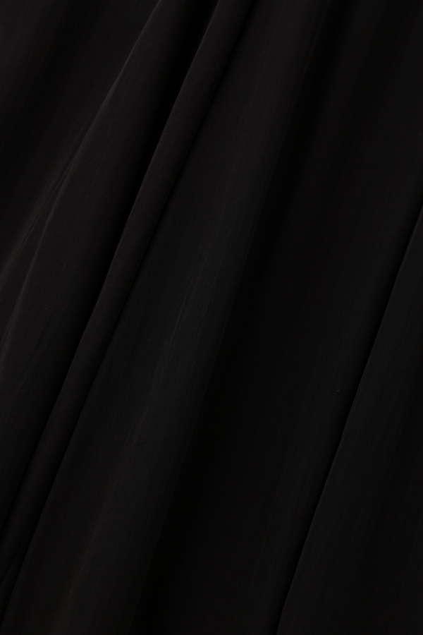 サスペンダー付きマキシスカート