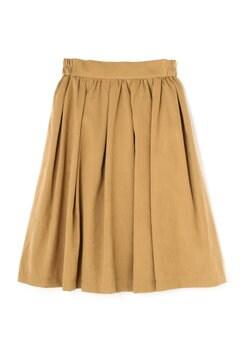 ピーチタックギャザースカート