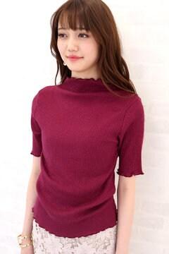 フリルリブTシャツ