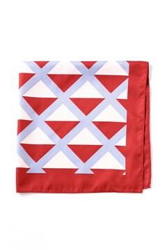 ダイヤ幾何柄スカーフ