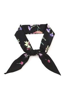 ボタニカルプリントひし形スカーフ