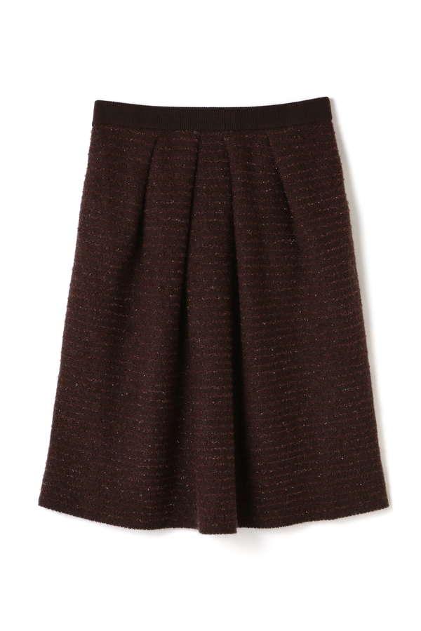 リブレアニットスカート