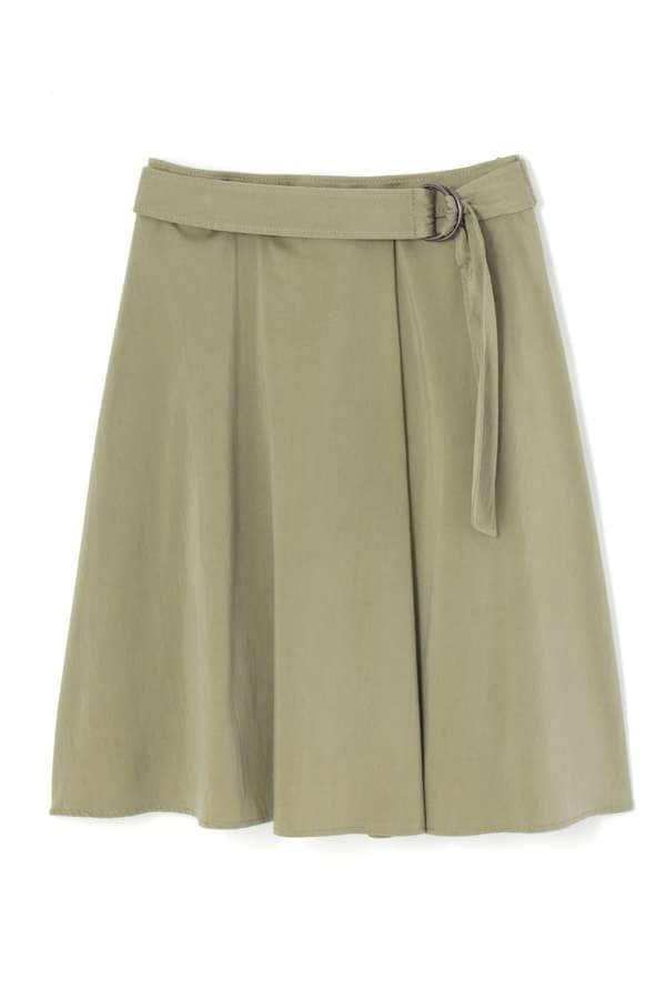 サテン硫化スカート