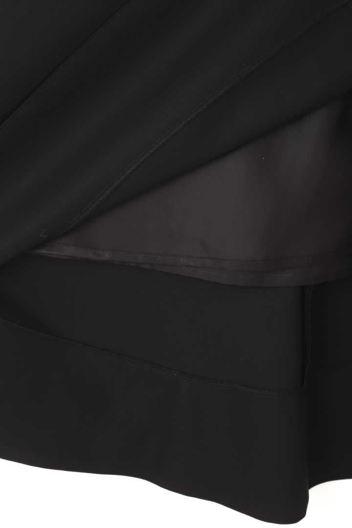 ハイツイストコットンアシメトリーヘムスカート