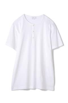 Men's Long-Staple Cotton Henley T-Shirt