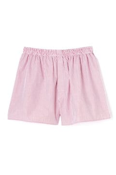 Men's Woven Cotton Boxer Short