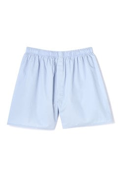 Men's Woven Cotton Long Cut Boxer Short